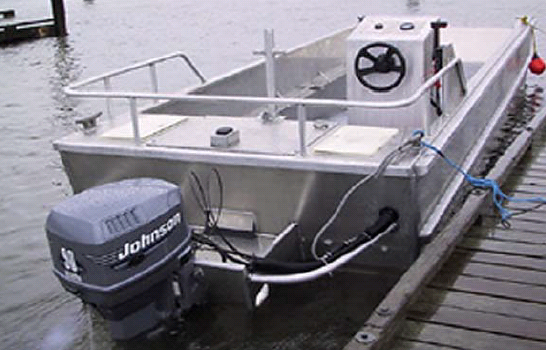 Marine Truck 22 With Gas Outboard Engine